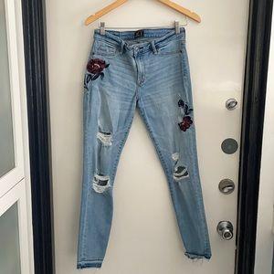 Abercrombie &Fitch Harper super skinny jeans s 29